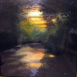 "David Bottini, ""Canal Sunrise"""