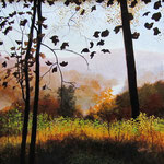 "David Bottini, ""Foggy Autumn"""