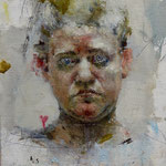 "Catherine Mulligan, ""Self-Portrait Study"", 10"" x 8"", oil on linen"