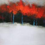 """Lesa Chittenden Lim, """"October Splendor"""", 21 x 25"""", pastel"""