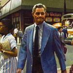 "Rick Buttari, ""Galore"", 9.5"" x 17"", oil on mounted canvas"