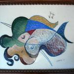 Liebende ,  Künstlerpastell-Kreide ( 60 x 45 )