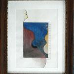Silhouette,Aquarell ( 35 x28 )
