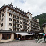 Unser Tagungs- und Übernachtungsort, das Hotel Mont Cervin Palace in Zermatt