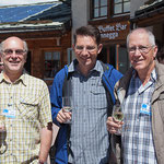 v.l. Ulrich Hugi (2003 - 2015) , Konrad F. Schmid (ab 2015) und Otto Bodmer (1985 bis 2003), drei SBV-Präsidenten