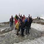Auf dem höchsten Punkt des Chäserruggs auf 2262 M.ü.M
