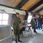 Erklärungen zur Aufbereitung von Trinkwasser mit einer Mobilen Anlage der Armee