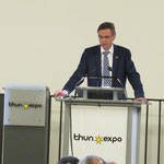 Eröffnungsrede durch Regierungsrat Hans-Jürg Käser