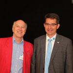 Ulrich Hugi (Präsident bis 2015) und Konrad Schmid (aktueller Präsident seit 2015)