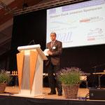 Begrüssung der Fachausweisempfänger durch Thomas Rotach, Leiter Höhere Berufsbildung vom SVGW