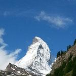 Das Matterhorn zeigte sich am Samstag von der besten Seite
