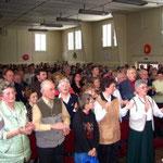 """""""standing ovations"""" als Dankeschön vom Publikum"""