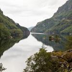Inselidylle im Lovrafjord