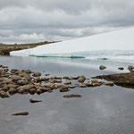 Eis auf dem Hornfjell