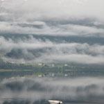 ein nebliger Morgen in Voss