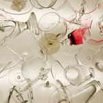 Tischglas