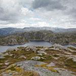 auf dem Weg zum Lysefjord