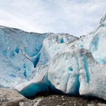 die Gletscherzunge des Nigardsbreen