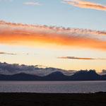Sonnenuntergang über Jura