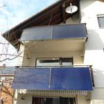 Mötzingen: Solarkollektoren Balkon