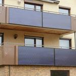 Horb-Talheim: Solarkollektoren Balkon