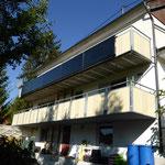 Weitingen: Solarkollektoren Balkon
