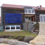 Nagold-Hochdorf: Solarkollektoren Fassadenanordnung