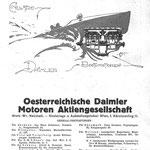 Reklame etwa um 1919