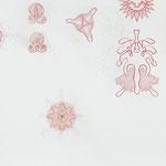 jumping discs |  98 x 200 cm | Graphit , Buntstift auf Papier
