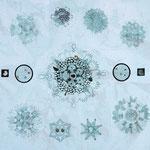 pumo ri | 100 x 140 cm | Digitaldruck, Stickerei auf Gewebe