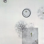 käfer | 80 x 110 cm | Graphit , Collage auf Bütten