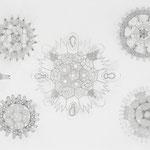 ohne titel | 98 x 180 cm | Graphit , Buntstift auf Papier
