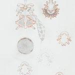 ohne titel | 140 x 98 cm | Graphit , Buntstift auf Papier
