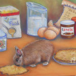 FEVRIER,  Canel fête les crêpes - Pastel sec