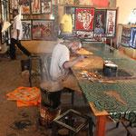 Kunsthandwerk für die wenigen Touristen