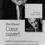 Coeur ouvert - Elie Wiesel