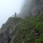 Mountainbike- Tour Fischen-Stillachtal-Schroffenpass-Lechtal-Tannheimertal-Fischen  130 Km