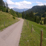 Mountainbike- Tour -Fischen - Rohrmoos-Lohbachtal 28Km