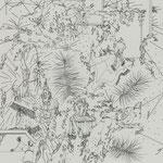 細密ドローイング 2019年33.2×24.2㎝ 水彩紙にボールペン