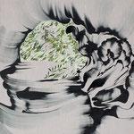 満奇洞 2017年 100×80.3cm キャンバスに油彩