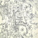 細密ドローイング32 2016年 33.2×24.2cm 水彩紙にボールペン (C)Rina Mizuno