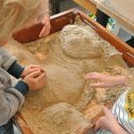 Sand Sandtisch Werkort Werken Werkstatt Viersen Susanne Löhnig