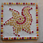 Mosaik Werkort Werken Werkstatt Viersen Susanne Löhnig
