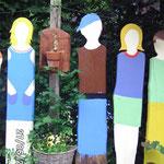 Zaunkinder Holz Werkort Werken Werkstatt Viersen Susanne Löhnig