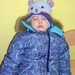 Сладкий сон перед прогулкой))