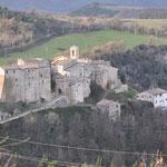 Dorf in der Nähe von Cupramontana