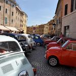 Fiat 500 Treffen in Cupramontana