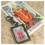 法皇のカードのキーホルダー