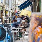 """Terrasse """"chez Enzo"""" rue Droite"""