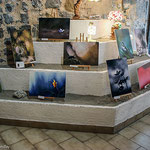 "Vernissage de l'exposition Michel Bonifay ""Regard Nature"" Atelier Sist'Arts 36, rue Mercerie à Sisteron"